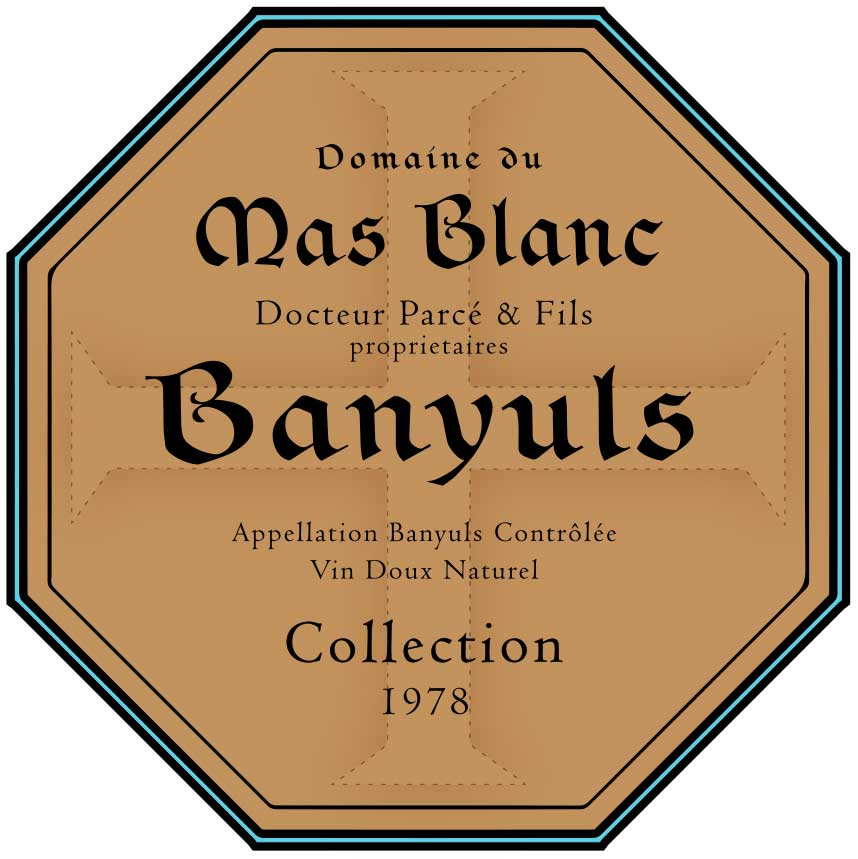 Domaine du Mas Blanc Banyuls 'Collection' 1978