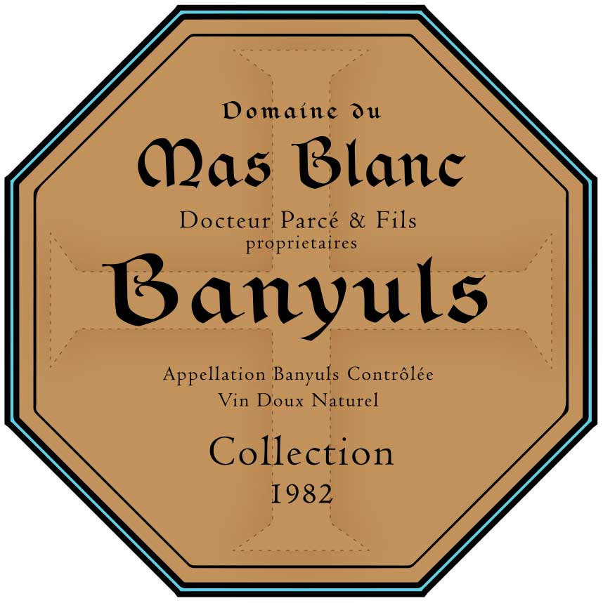 "Domaine du Mas Blanc Banyuls ""Collection"" 1982"