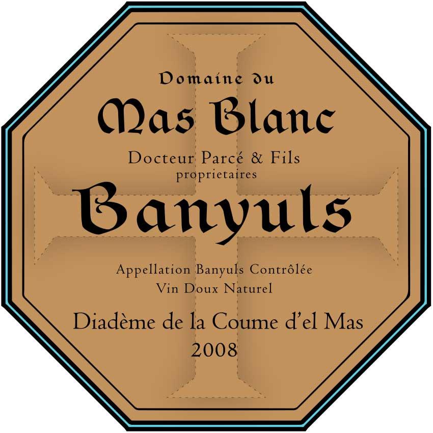 Domaine du Mas Blanc Rimage 'Diadème de la Coume' 2008