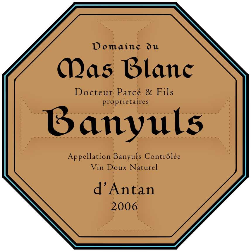 Domaine du Mas Blanc Banyuls 'd'Antan' 2006