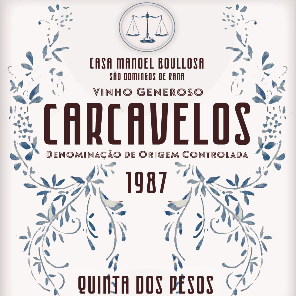 Quinta dos Pesos Carcavelos 1987