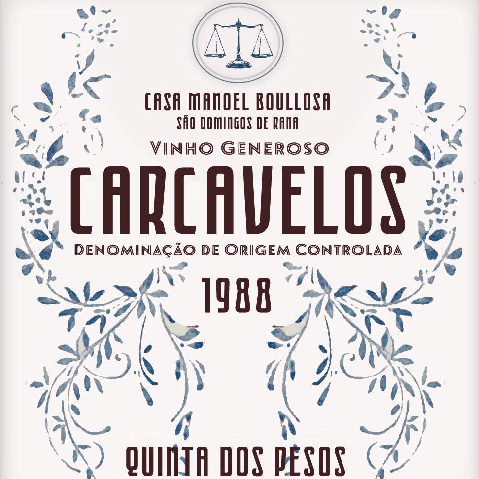 Quinta dos Pesos Carcavelos 1988