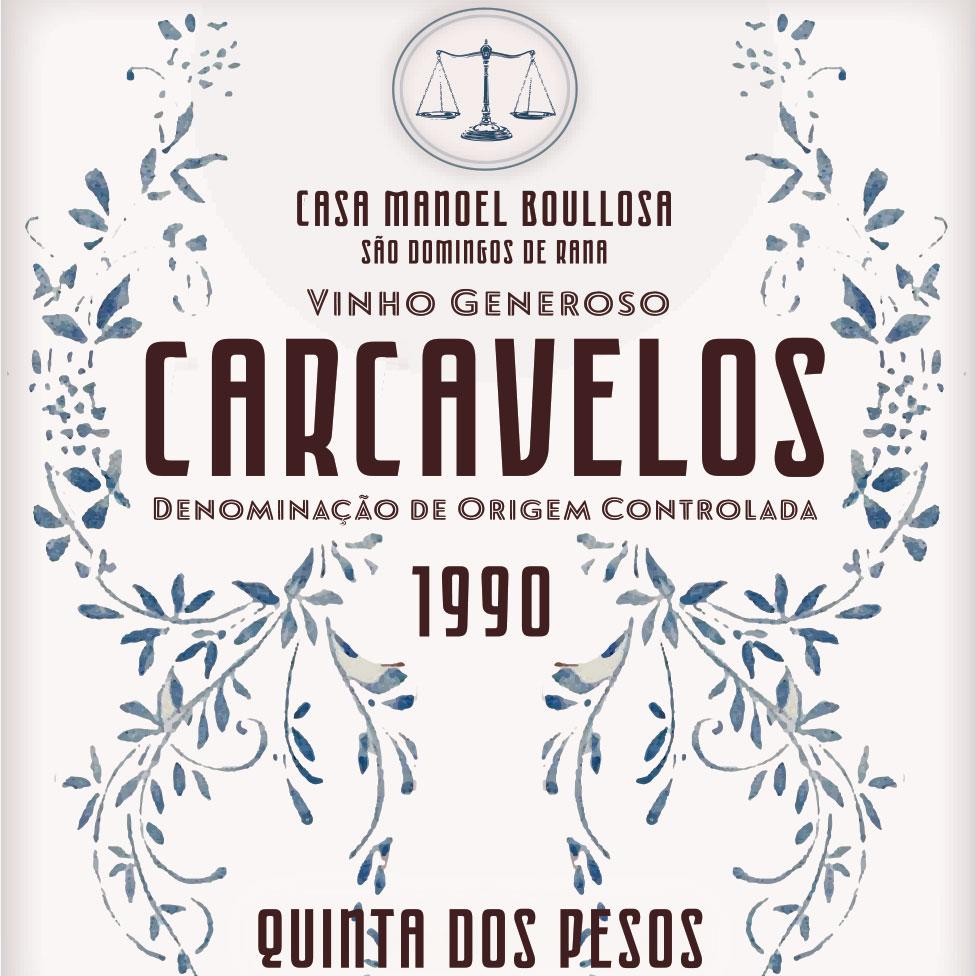 Quinta dos Pesos Carcavelos 1990