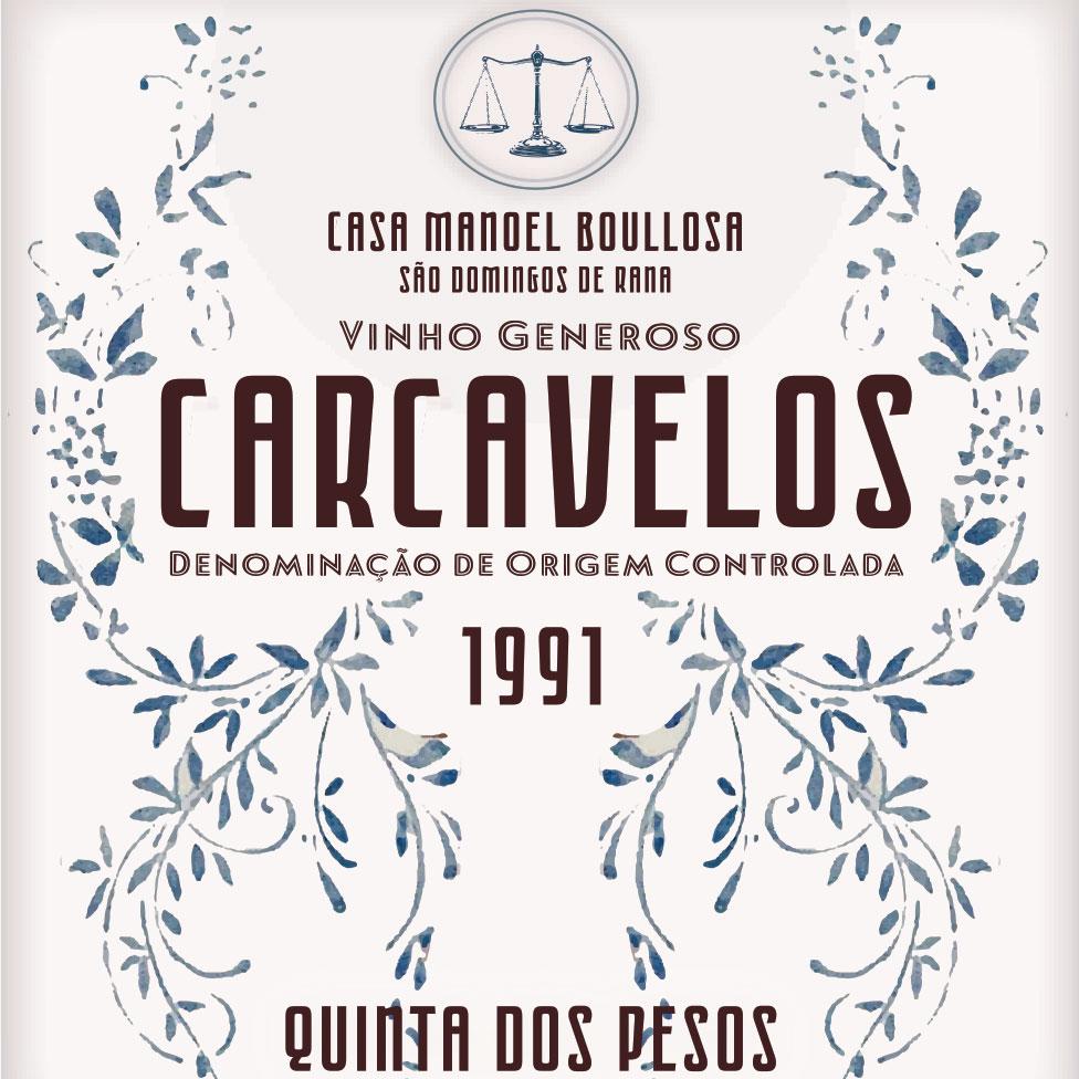 Quinta dos Pesos Carcavelos 1991