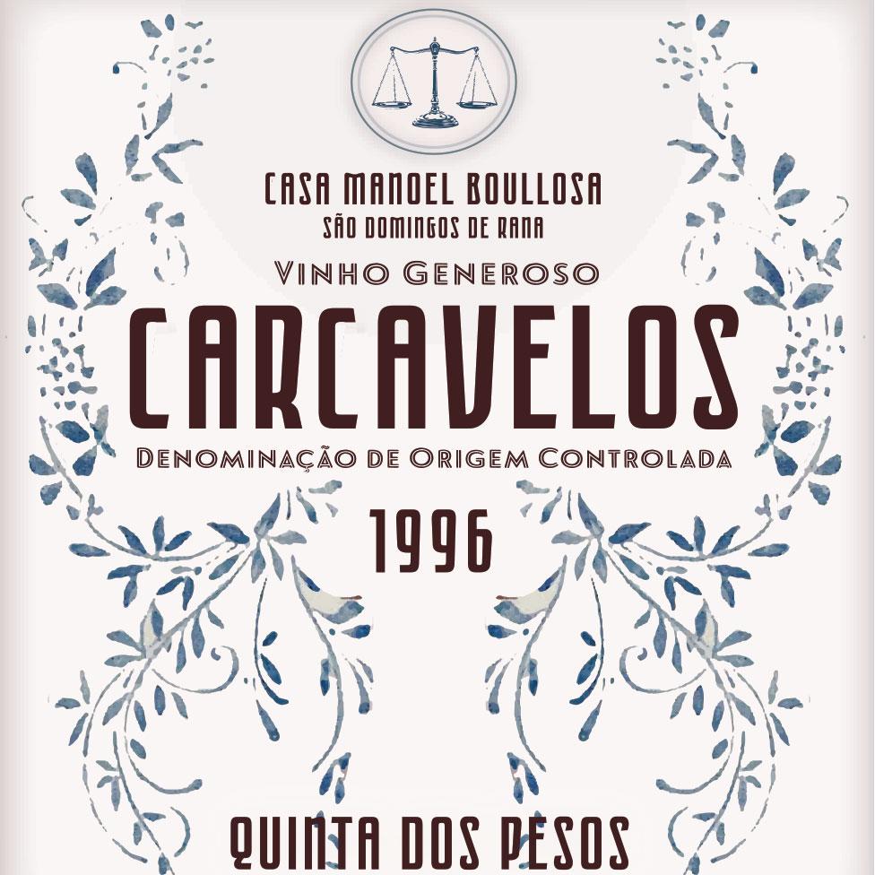Quinta dos Pesos Carcavelos 1996