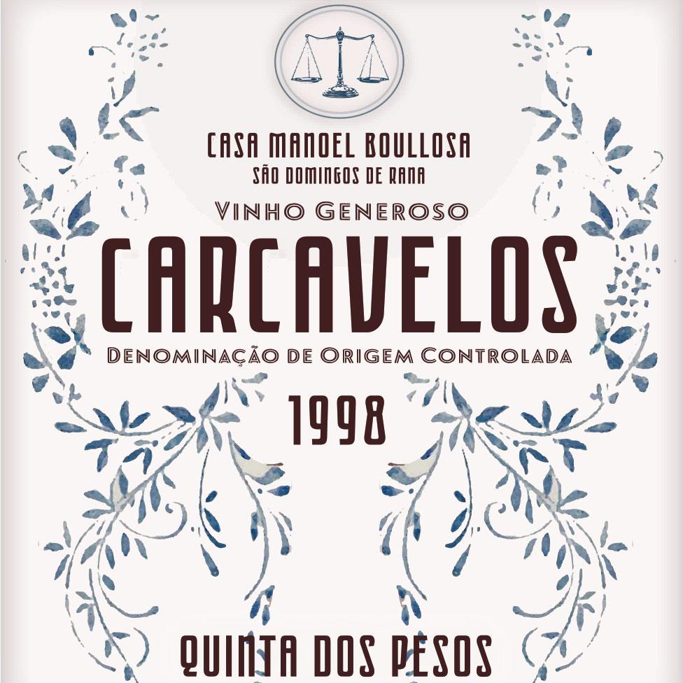 Quinta dos Pesos Carcavelos 1998