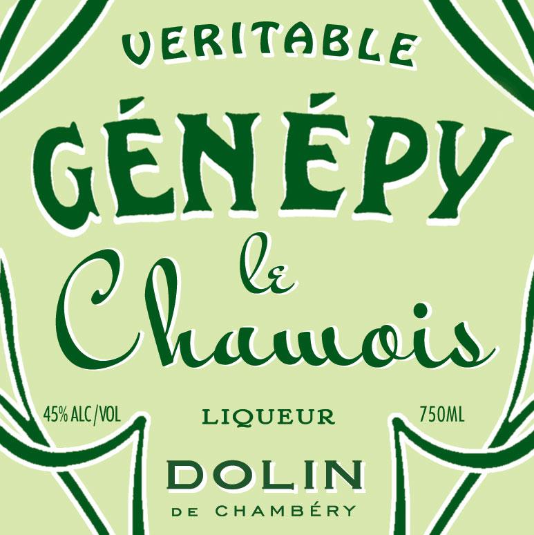 Dolin Génépy le Chamois Liqueur
