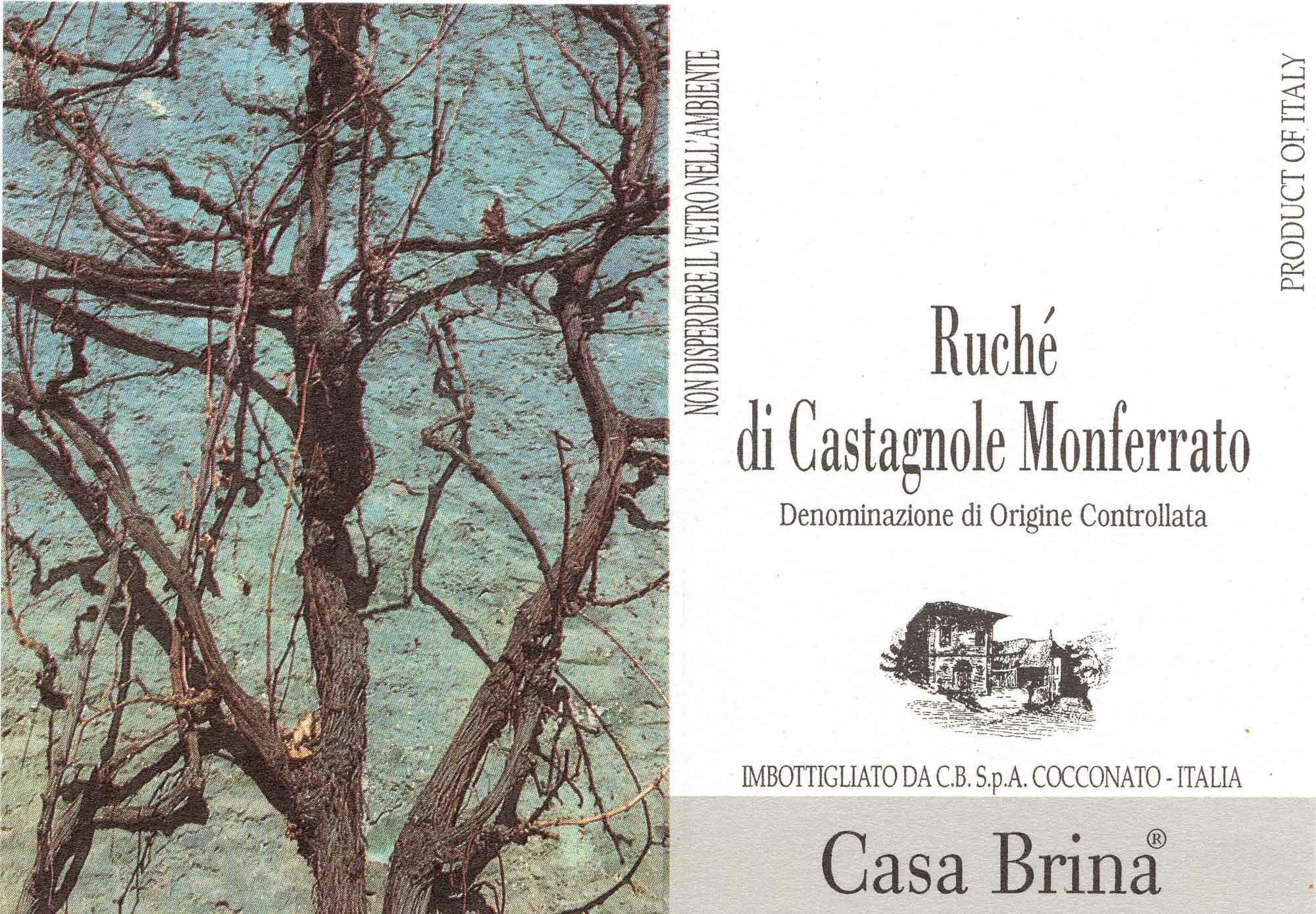 Casa Brina Ruchè di Castagnole Monferrato DOCG