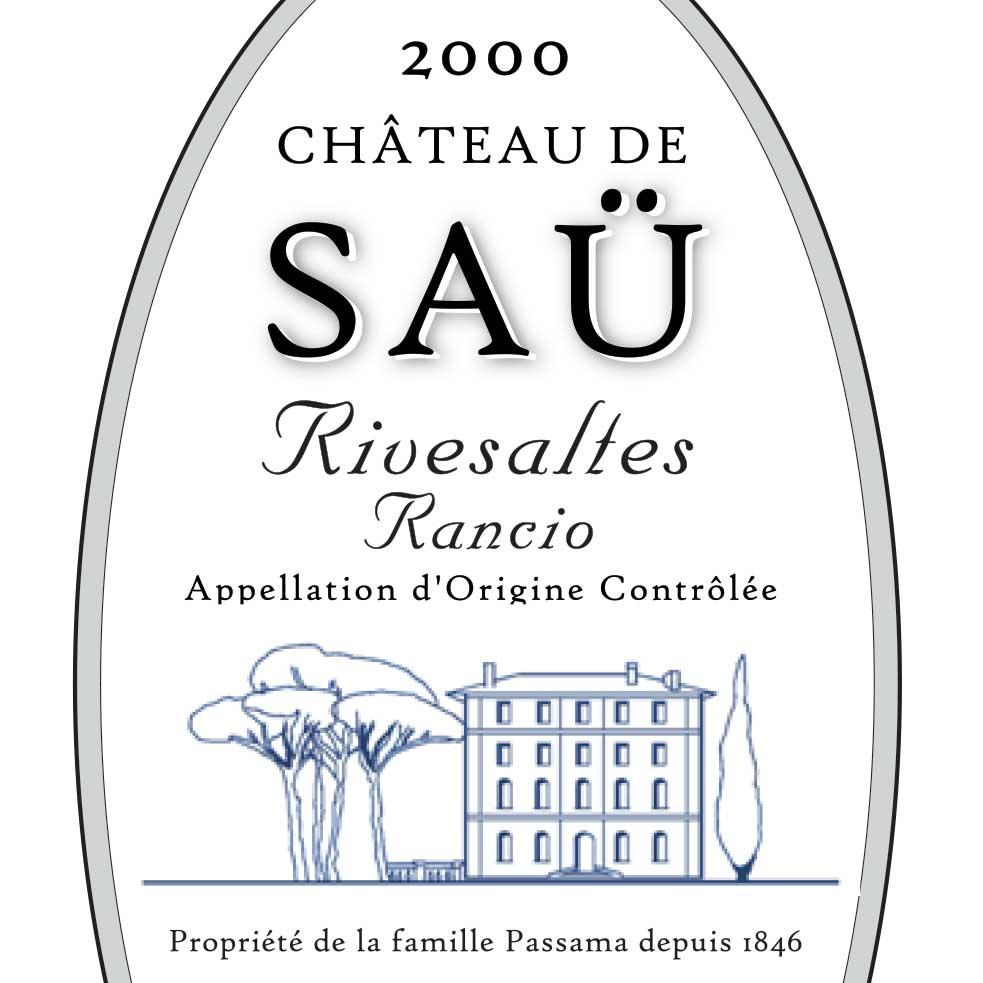 Château de Saü Rivesaltes Rancio 2000