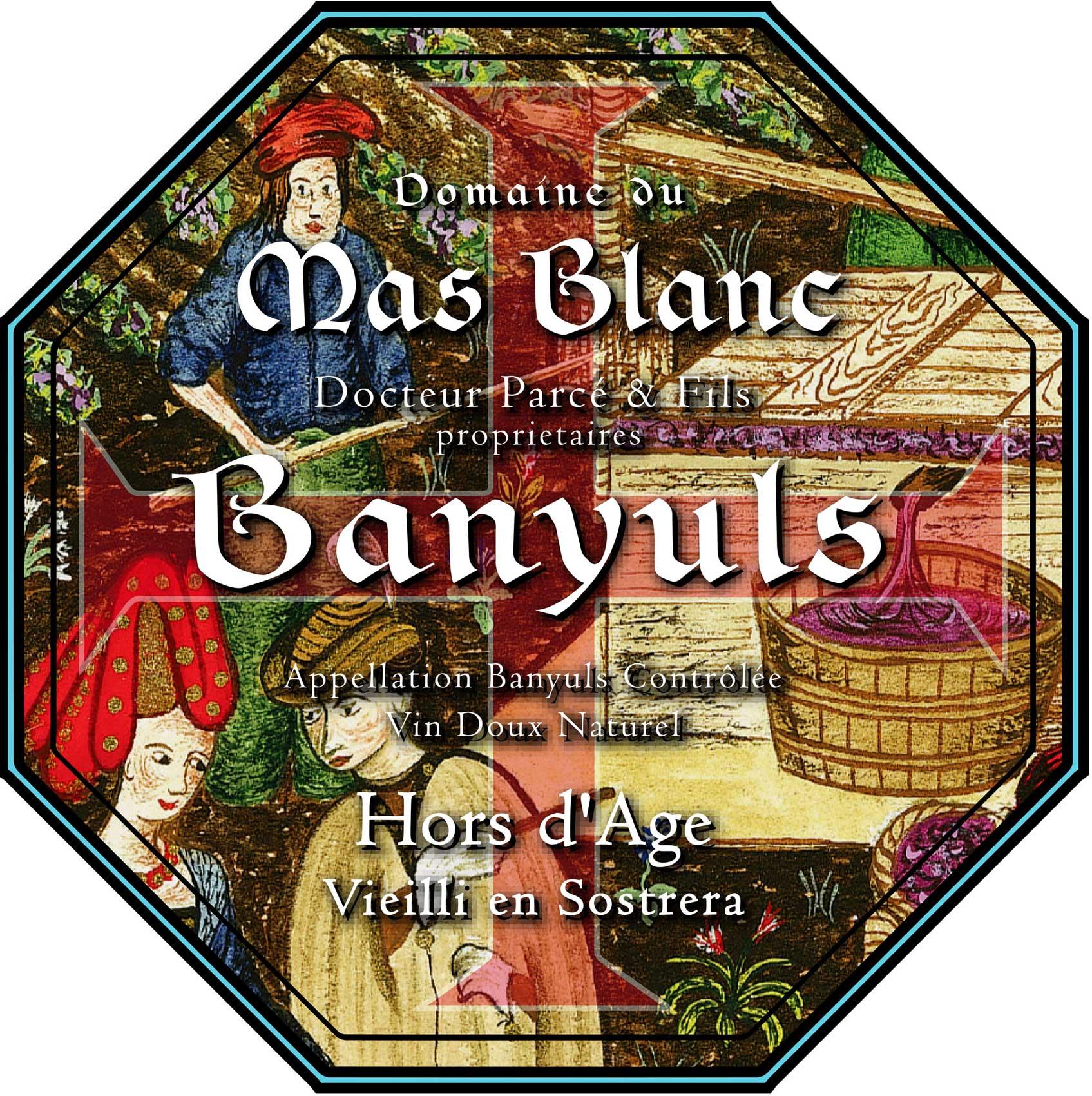 Domaine du Mas Blanc Banyuls Hors d'Age 'Sostrera'