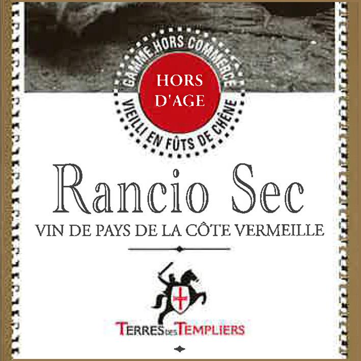 Terres des Templiers Rancio Sec NV